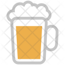 Cold Coffee Beer Icon