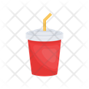 Juice Drink Straw Icon
