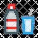 Bottle Glass Lemonade Icon