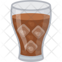 Cold Cocktail Beverage Icon