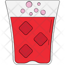 Cold Drink Drink Ice Cubes Icon