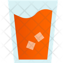 Cold Drink Glass Icon