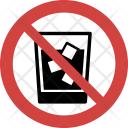 Cold drink not allowed Icon