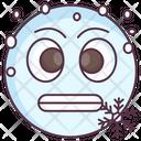 Cold Emoji Icon
