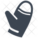 Cold Glove Winter Icon