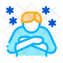 Human Isolated Chill Icon
