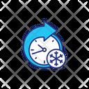 Cold Storage Temperature Icon