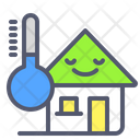 Cold Home House Icon