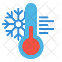 Cold Thermometer Weather Icon