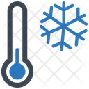Cold Thermometer Winter Icon