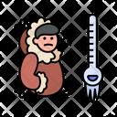 Cold Coat Winter Icon
