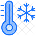 Cold Weather Thermometer Icon