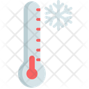 Winter Thermometer Climate Icon