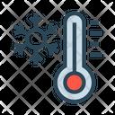 Snow Flake Temperature Icon