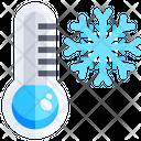 Cold Temprature Cold Thermometer Icon