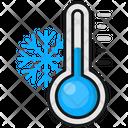 Cold Temprature Winter Cold Icon