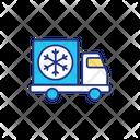 Cold Truck Icon