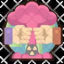 Cold War Bio Hazard War Nuclear Bomb Icon