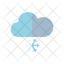 Cold Weather Snowfall Cloud Icon