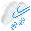 Cold Weather Wind Icon