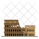 Rome Coliseum Icon