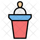 Collaboration Election Meetings Icon