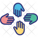 Collaboration Collective Interest Cooperation Icon
