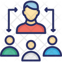 Collaboration Leadership People Group Icon