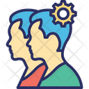 Collaboration Cooperation Coordination Icon