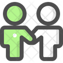 Collaboration Technical Support Friends Icon