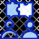 Collaboration Discussion Teamwork Icon