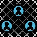 Collaboration Work Team Icon