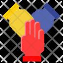Collaboration Collaborative Combine Icon