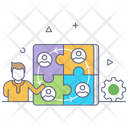 Collaboration Strategy Icon