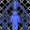 Collaborative Solving Solution Icon