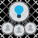 Collaborative Idea Collaboration Cooperation Icon