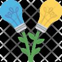 Bulbs Two Ideas Icon