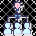 Collaborative Innovation Network Icon
