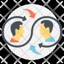 Collaborative Lifestyle Human Icon