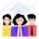 Shared Thoughts Collaborative Thoughts Team Thoughts Icon