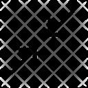 Collapse diagonal Icon