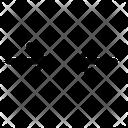 Collapse horizontal Icon