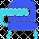 Colleague Chair Chair Seat Icon