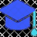 Colleague Hat Graduation Cap Graduation Hat Icon