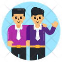 Teammates Employees Colleagues Icon