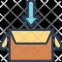 Collect Box Gather Icon