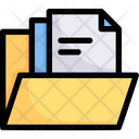 Online Shopping Collection Folder Icon