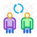 Employee Renewal Recruitment Icon