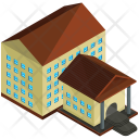 College Building Home Icon
