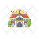 College Educational Institute Building Icon